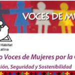Proyecto Voces de Mujeres por la Ciudad. Más Inclusión, Seguridad y Sostenibilidad