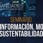 SEMINARIO CIUDAD: INFORMACIÓN, MOVILIDAD, SUSTENTABILIDAD | 16 DE ENERO DE 2019