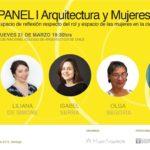 [INVITACIÓN] Panel de arquitectura y mujeres en Chile: ciudad y género | 21 de marzo 2019