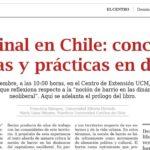 Lo vecinal en Chile: conceptos, políticas y prácticas en disputa