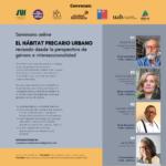 Seminario online «EL HÁBITAT PRECARIO URBANO revisado desde la perspectiva de género e interseccionalidad»
