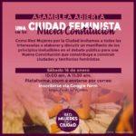 ASAMBLEA ABIERTA UNA CIUDAD FEMINISTA EN LA NUEVA CONSTITUCIÓN