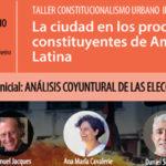 LA CIUDAD EN LOS PROCESOS CONSTITUYENTES DE AMÉRICA LATINA