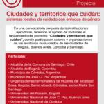 Lanzamiento proyecto «Ciudades y territorios que cuidan: sistemas locales de cuidado con enfoque de género»